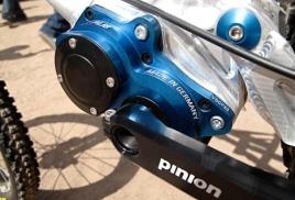 Коробка передач Pinion: рамы тяжелее, колёса легче